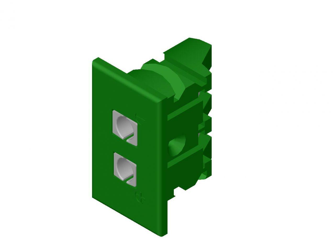 Kablar och kontakter Panelkontakter 03-25040