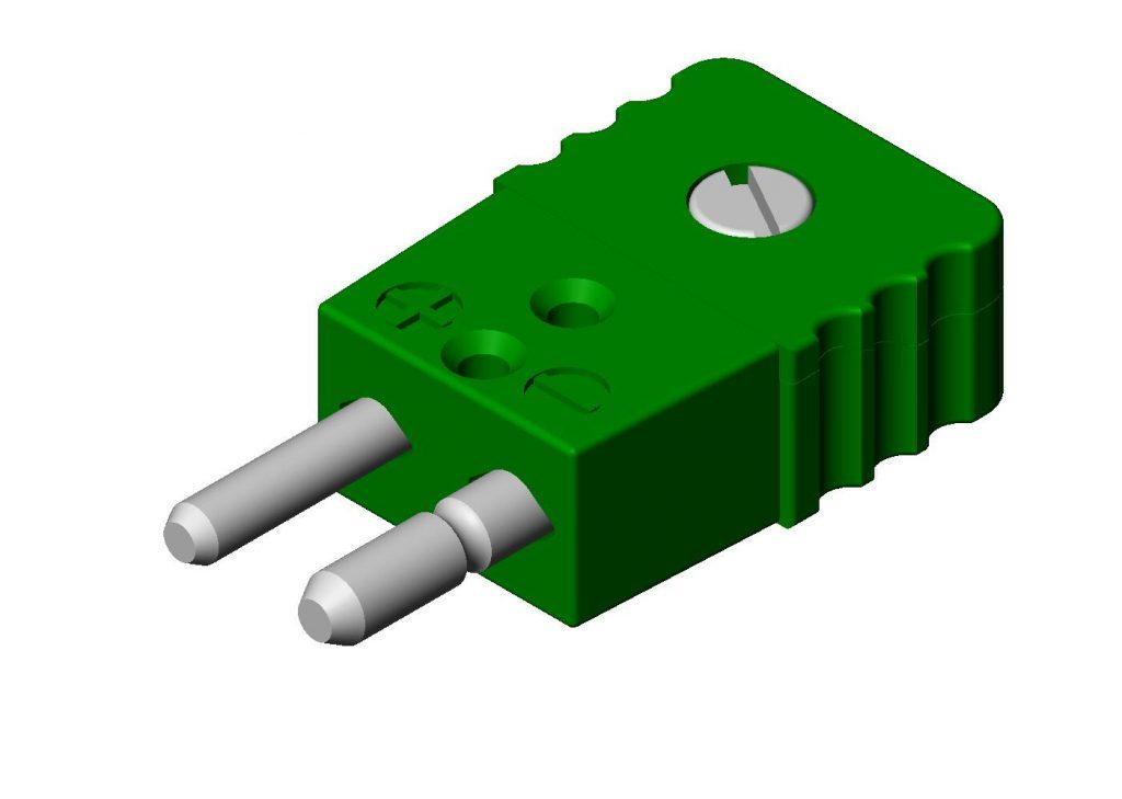 Kablar och kontakter Termoelement-kontakter 03-21000