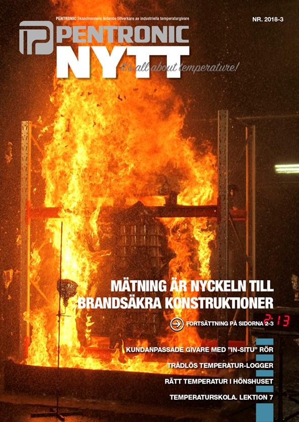 PN 2018-3 med reportage från brandforskningsenheten på RISE