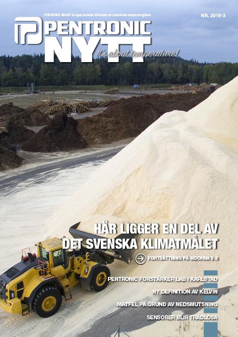 PentronicNytt 2019-3 med reportage om fossilfri energi från Derome Pellets i Kinnared.