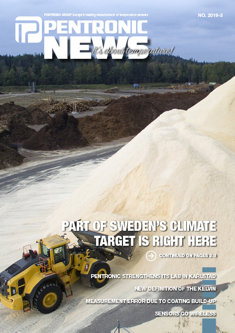 Pentronic News 2019-3 includes an article about fossil-free energy from Derome's pellets factory in Kinnared, western Sweden