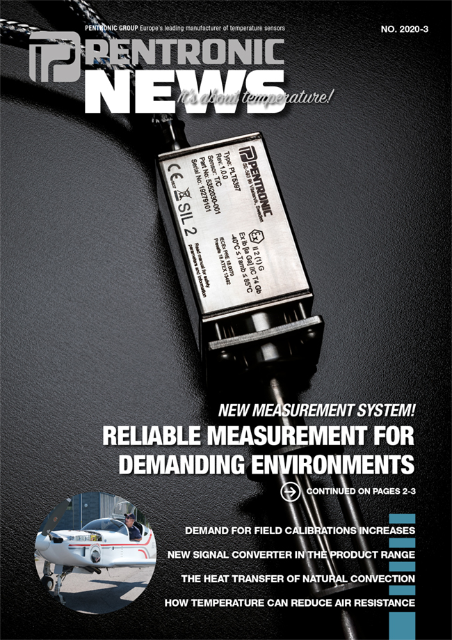 Pentronic News 2020-3 includes reading about a new measurement system for demanding environments.