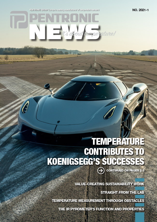 PentronicNews 2021-1 includes interesting reading about high-tech innovations in product development and the manufacture of exclusive super sports cars from Koenigsegg.