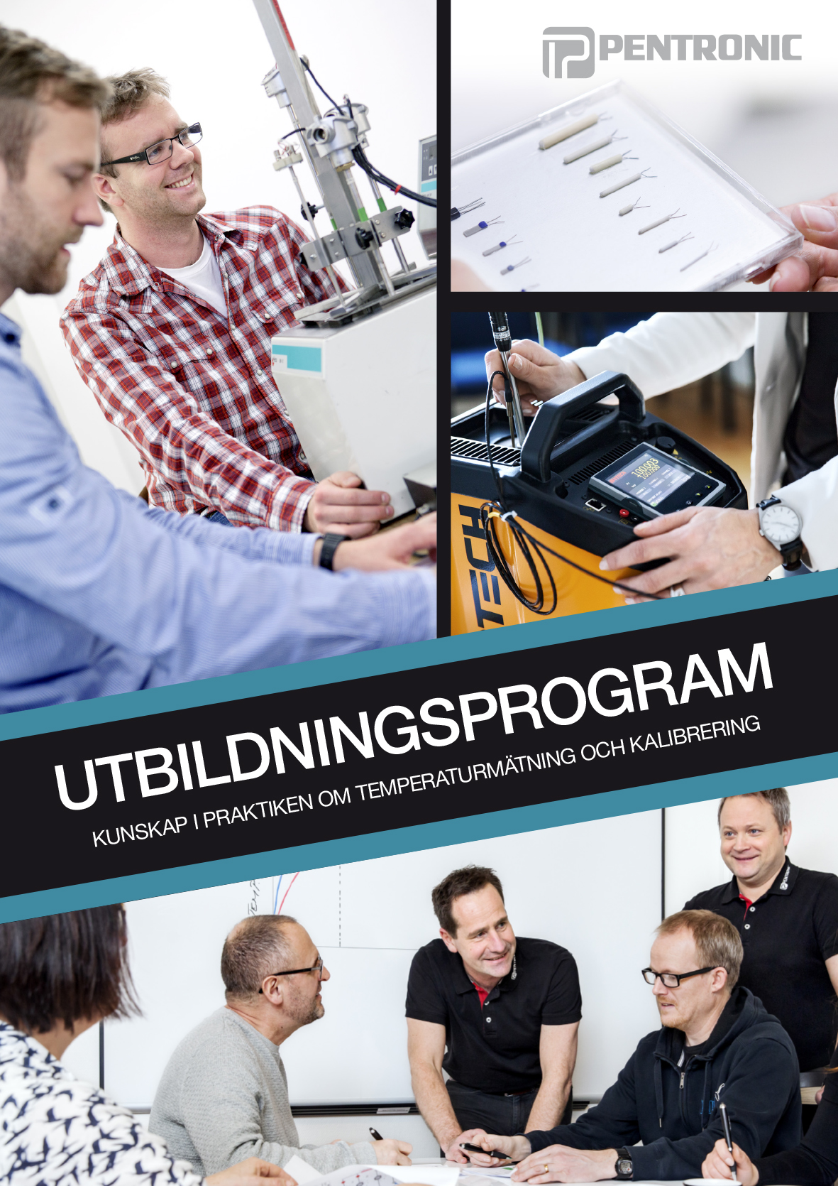 Bild på broschyr för Pentronics Utbildningsprogram