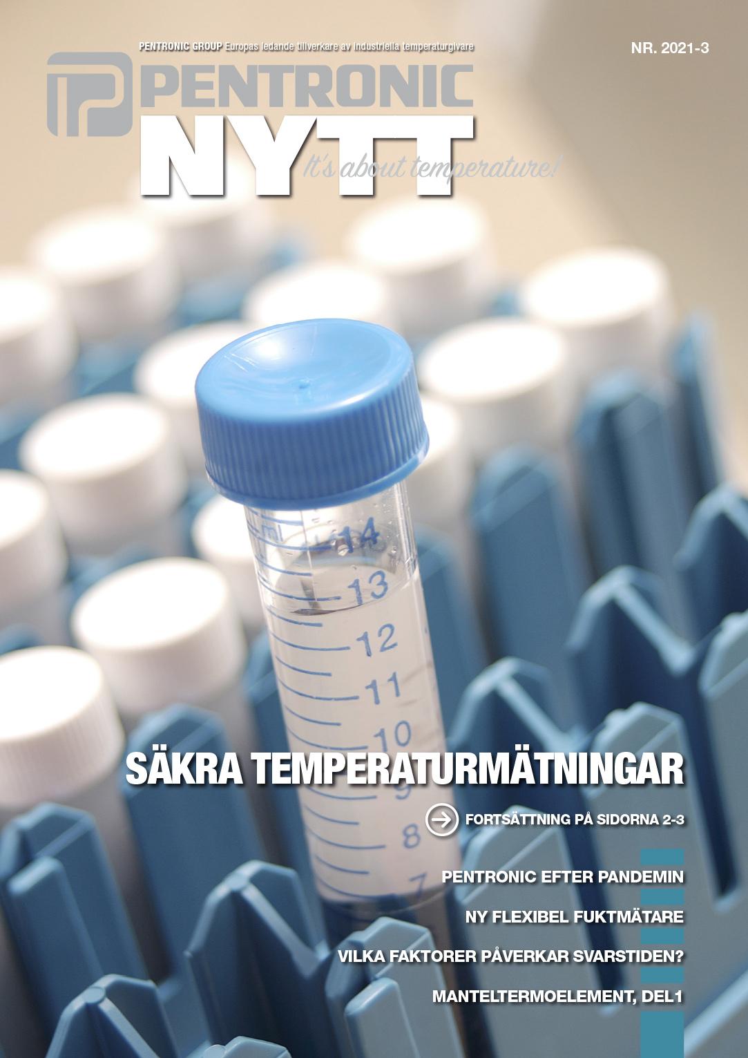 Omslag för tidningen PentronicNytt 2021-3